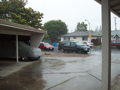 It's April showers, damnit!