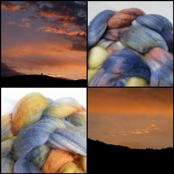 naplemente színek
