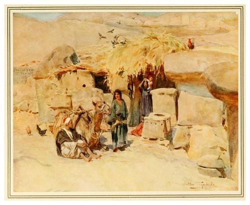 011-Un caserio en Tebas-An artist in Egypt (1912)-Walter Tyndale