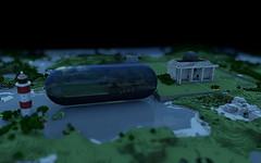 Minecraft Render (Niq Scott) Tags: render export minecraft mcobj
