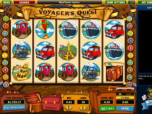 Voyager's Quest slot game online review