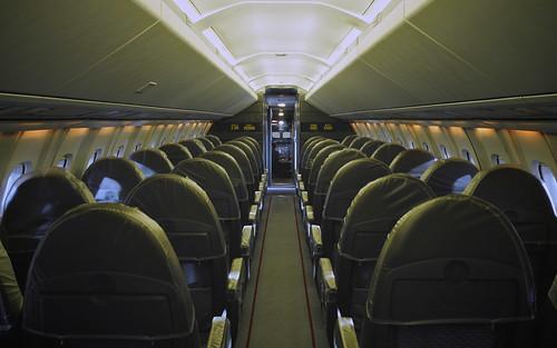 Standing Inside Concorde