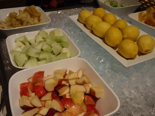 Melaka breakfast fruit