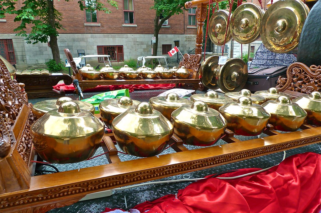 Copyright Photo: The Balinese Gamelan 1 by Montreal Photo Daily, on Flickr