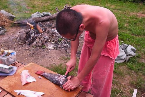 無人島キャンプ 20110702-03