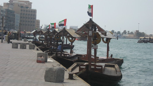 Abras with UAE Flags