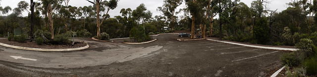 Busy at Aligator Gorge carpark
