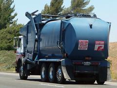 CR&R Garbage Truck (Photo Nut 2011) Tags: california trash truck garbage junk waste orangecounty refuse sanitation garbagetruck crr trashtruck wastedisposal