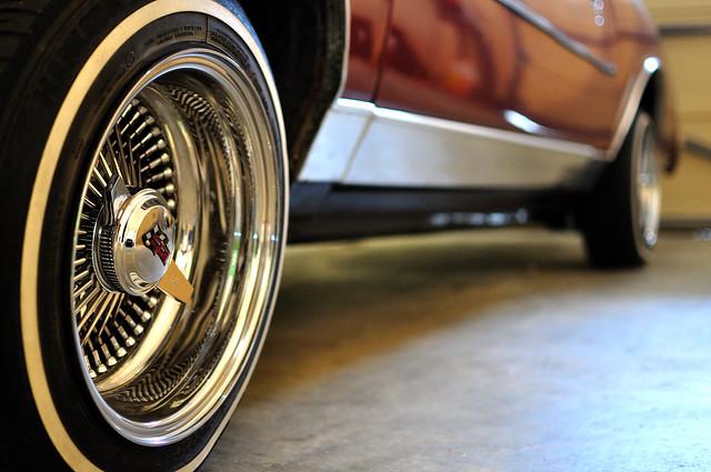 "Dayton Auto Show >> 15"" Chrome knock off wire wheels | GBodyForum - '78-'88 General Motors A/G-Body Community ..."