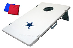 Dallas Cowboys TailGate Toss 2.0 Plastic Cornhole Boards