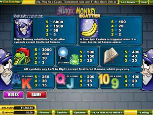free Magic Monkey slot mini symbol