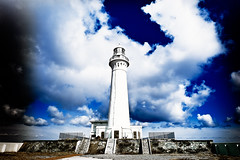 Come unto me (moaan) Tags: voyage leica travel sky cloud lighthouse digital way goal utata arrive aomori alive arrival beacon far tohoku  m9 21mm jouney longway 2011 superangulon  farfromhome f34 leicasuperangulon21mmf34 northerneast   leicam9 siriyazaki higashidorimura shiriyazakilighthouse gettyimagesjapanq2