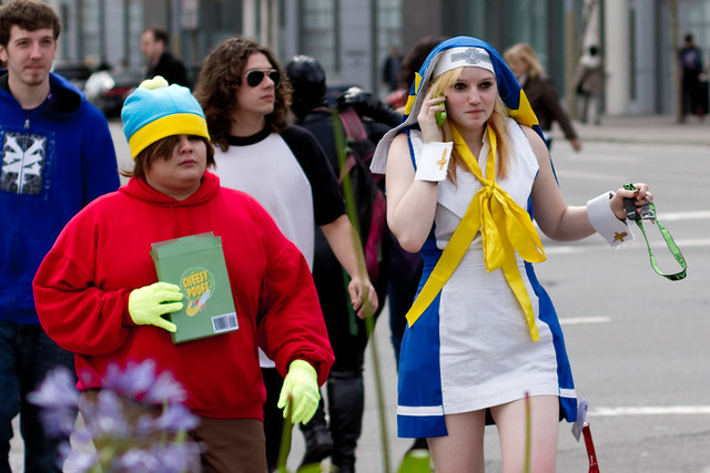 Wondercon 2011: cartman and ?