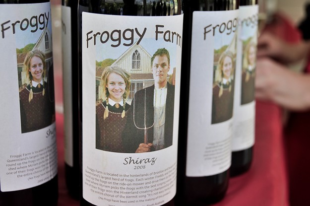 Froggy farm Shiraz