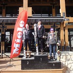 Miele Panorama Spring Series - Ladies Slalom #1 - J1 Podium PHOTO CREDIT: Gregor Druzina