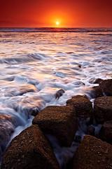 tanned and toned (tropicaLiving - Jessy Eykendorp) Tags: light sunset sea sky bali seascape beach water indonesia landscape photography rocks outdoor shoreline echobeach canggu efs1022mmf3545usm canoneos50d singhraydarylbensonreversendgrad