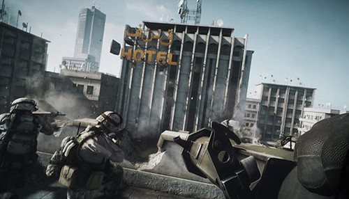 Battlefield 3 Playstation 3 Footage on Jimmy Fallon Live Looks Impressive