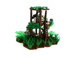Welcome to 'Nam (Lego Junkie.) Tags: boys war lego boom vietnam flame cal 50 browning on cong