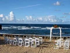 Wedding Setting (MCScola) Tags: wedding beach puertorico setting