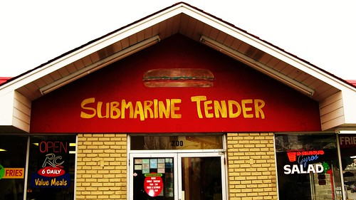 Submarine Tender. Forest Park Illinois USA. January 2011. by Eddie from Chicago
