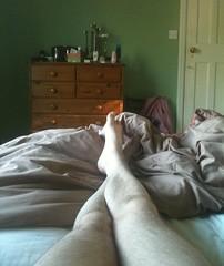 FUTAB (Guy Tyler) Tags: hairy feet foot bed bedroom legs leg tyler hairylegs feetup takeabreak futab feetuptakeabreak guytyler