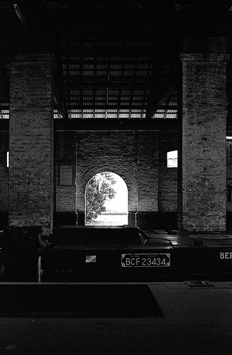 An Old Train Depot