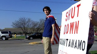 Anti-Torture Vigil - Week 43: Captain America