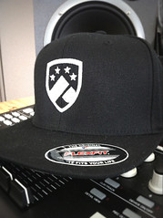 Fitted Logo Cap - Signature Edition - White on Black