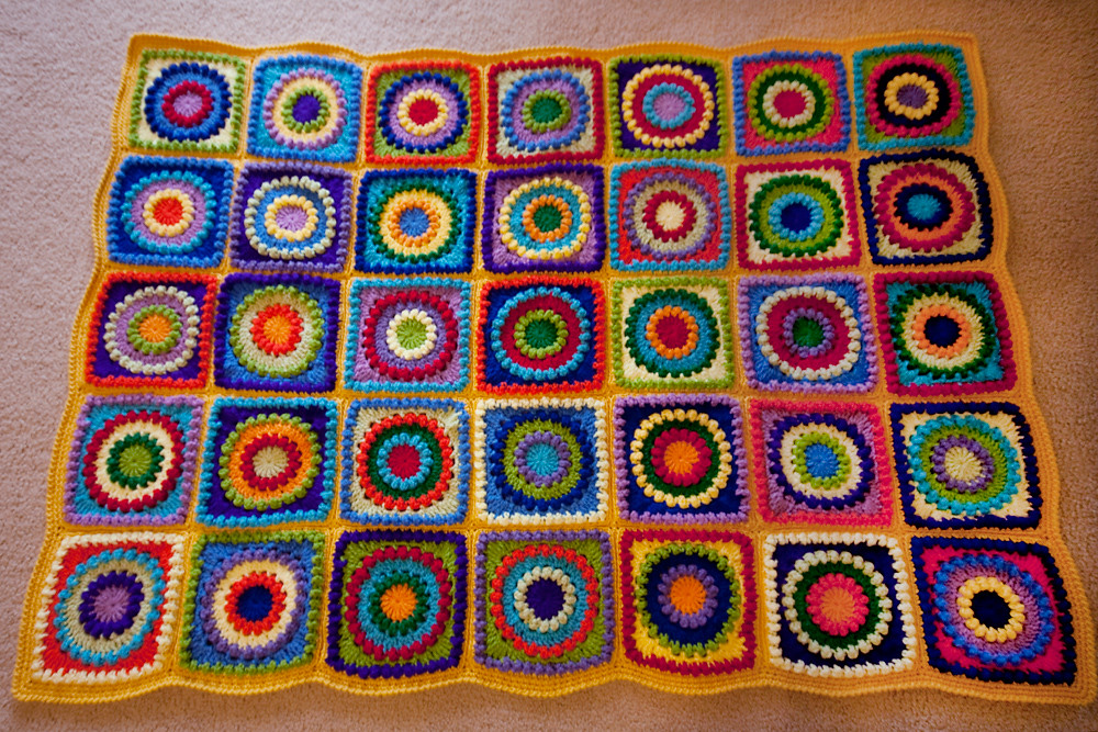 Circle of Friends Afghan