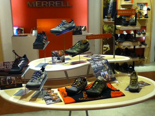 Merrell Barefoot Launch - Shoes up close