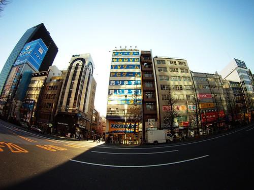 秋葉原中央通り、GoProにて撮影