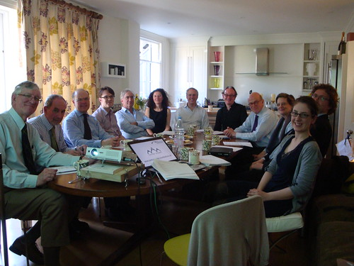 The Courtauld Gothic Ivories project board meeting