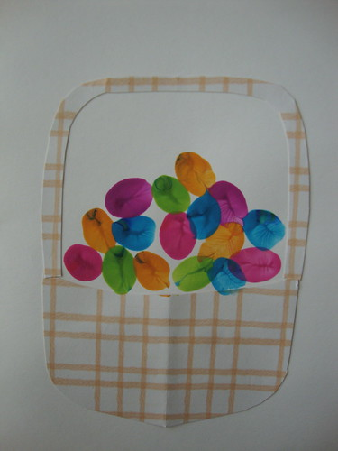 thumbprint egg basket