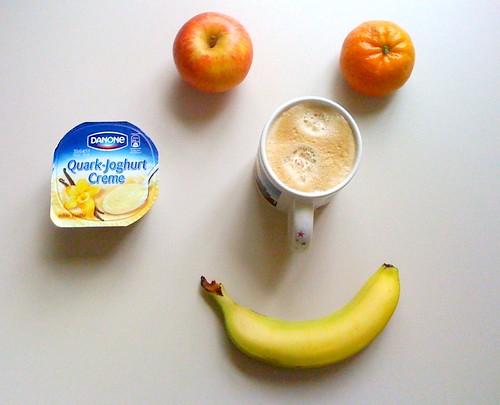 Royal Gala, Clementine, Banane & Quark-Joghurt-Creme