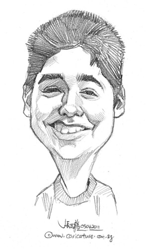 caricature in pencil - 22