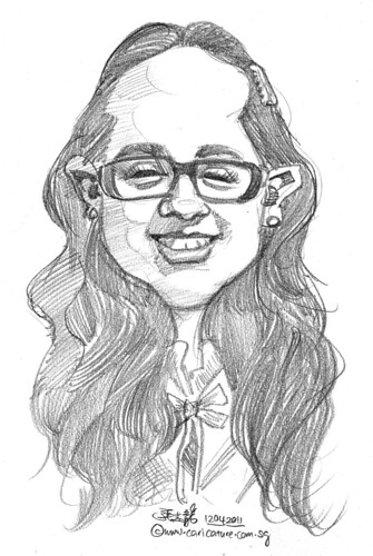 caricature in pencil - 47