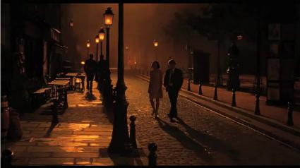 Midnight in Paris Paseo nocturno