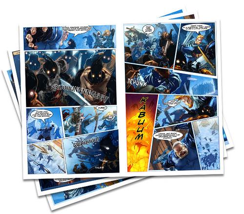 Under Siege Comic