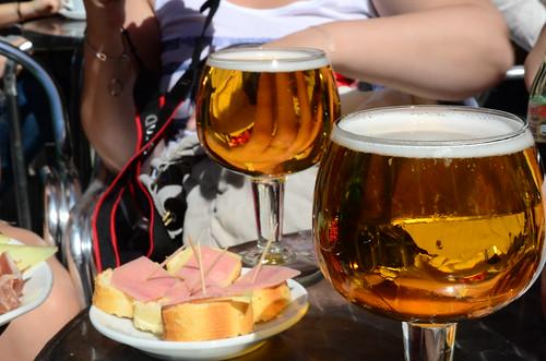 Cerveza y Tapas