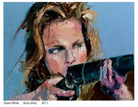 dave white sure shot - girl with a gun