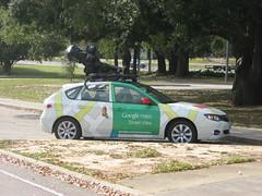 Google Street View Car (jadjadjad) Tags: street car google googlemaps alabama streetview