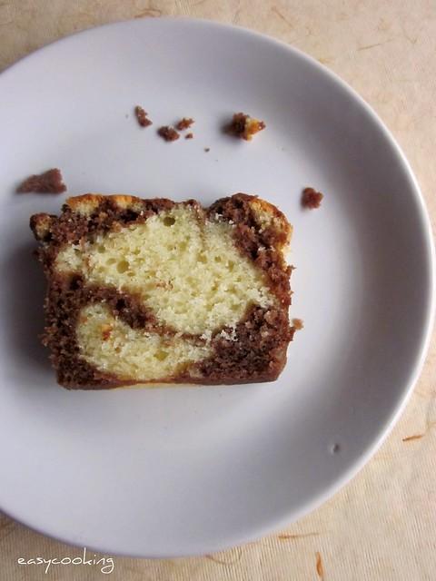 Marble Loaf Cake 2