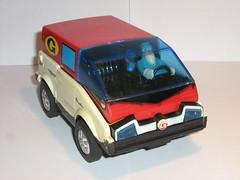 bandai 1983 inspector gadget van a front (tjparkside) Tags: 1983 bandai inspectorgadget gadgetmobile gadgetvan