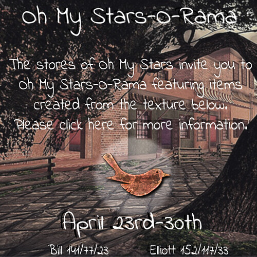 Oh My Stars-O-Rama April Event