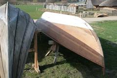 Ruderboote in Haithabu - Wikinger Museum WHH 09-04-2011