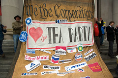 """We the Corporations ♥ the Tea Party"""
