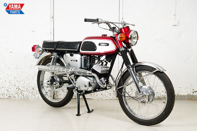 Yamaha AS1C Red 1968 2