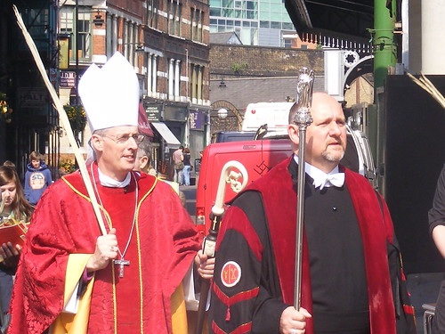 Bishop of Southwark: Palm Sunday 2011 at Southwark Cathedral