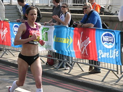 Jo Pavey, London Marathon 2011 (SNappa2006) Tags: favorite london athletics marathon running jo runners athletes favourite embankment 19th londonmarathon debut pavey victoriaembankment wheelchairs favourited templeplace 2011 vlm 170422 virginlondonmarathon