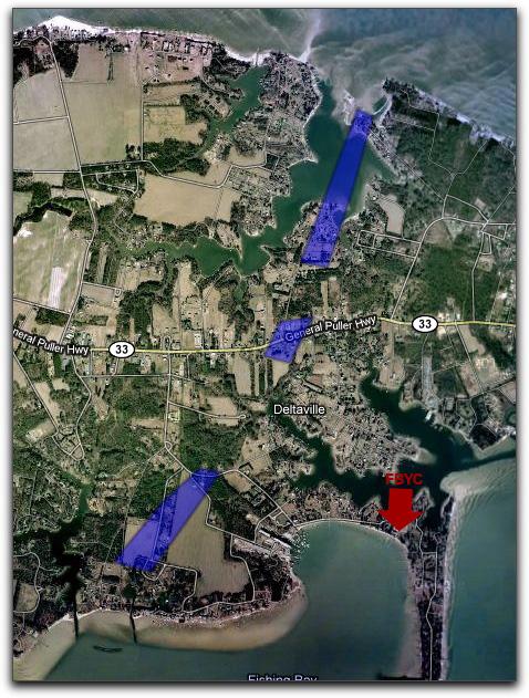 Est Tornado Path - observations and WAVY video